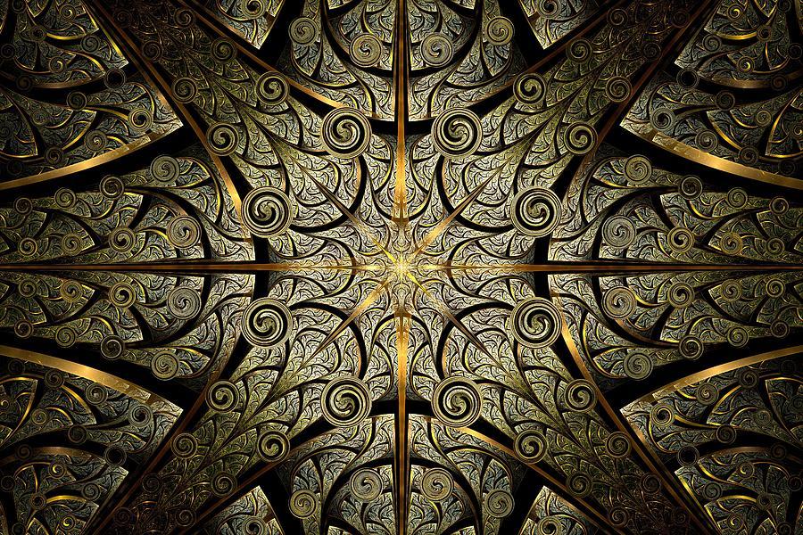 Malakhova Digital Art - Gates Of Creation by Anastasiya Malakhova