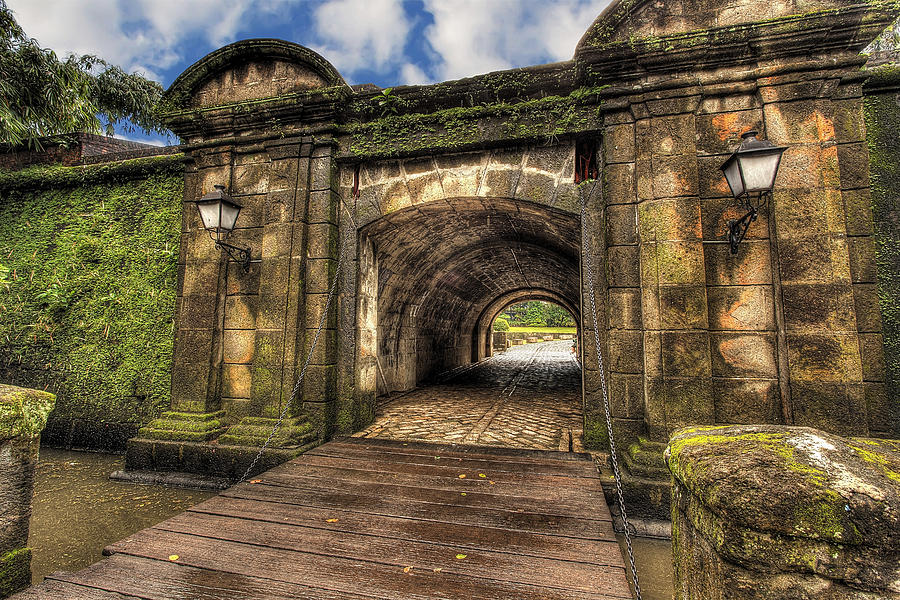 Intramuros Photograph - Gates Of Intramuros by Mario Legaspi