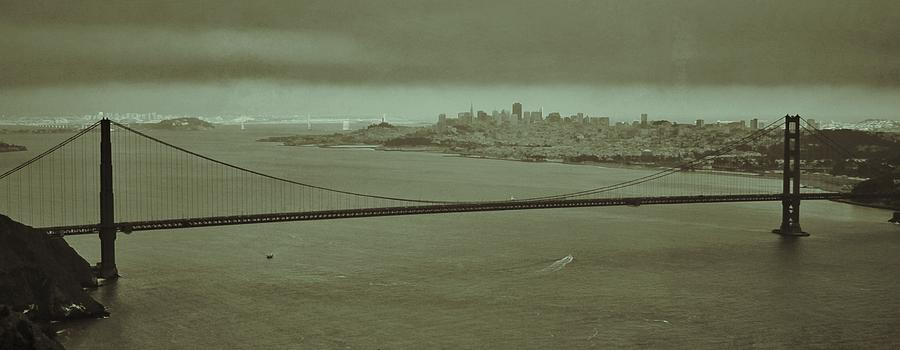 Landscape Photograph - Gateway To The Bay by Dave Hall