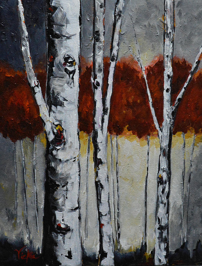 Trees Painting - Gateway by Vickie Warner