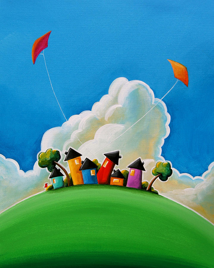 House Painting - Gather Round by Cindy Thornton