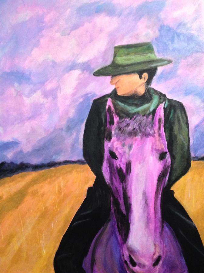 Expressionism Painting - Gaucho De Mendoza by D August