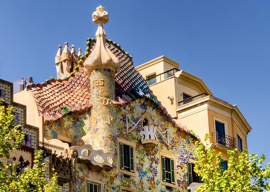 Gaudi Photograph - Gaudi Apartment by Jon Berghoff