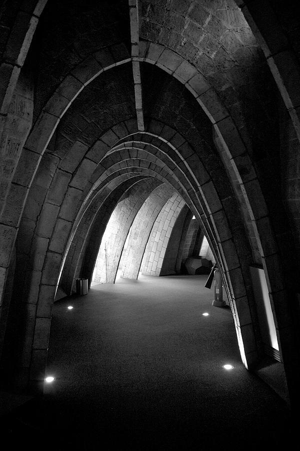 Gaudi Photograph - Gaudi Interior by Michael Underhill