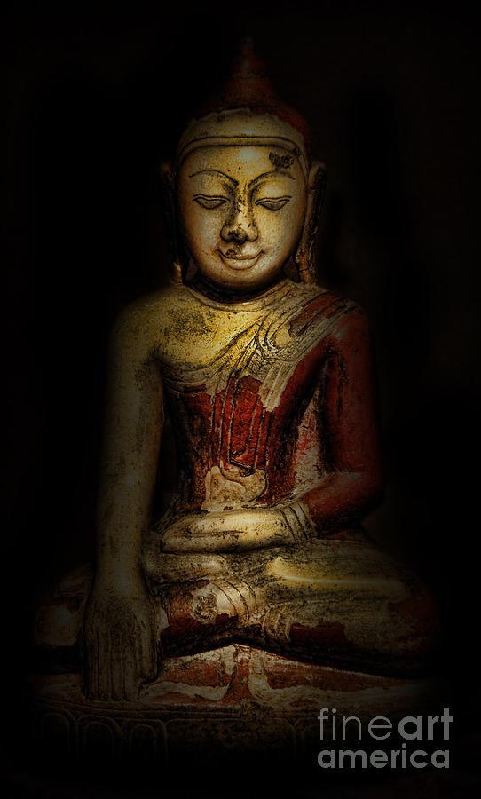 Burma Photograph - Gautama Buddha by Lee Dos Santos