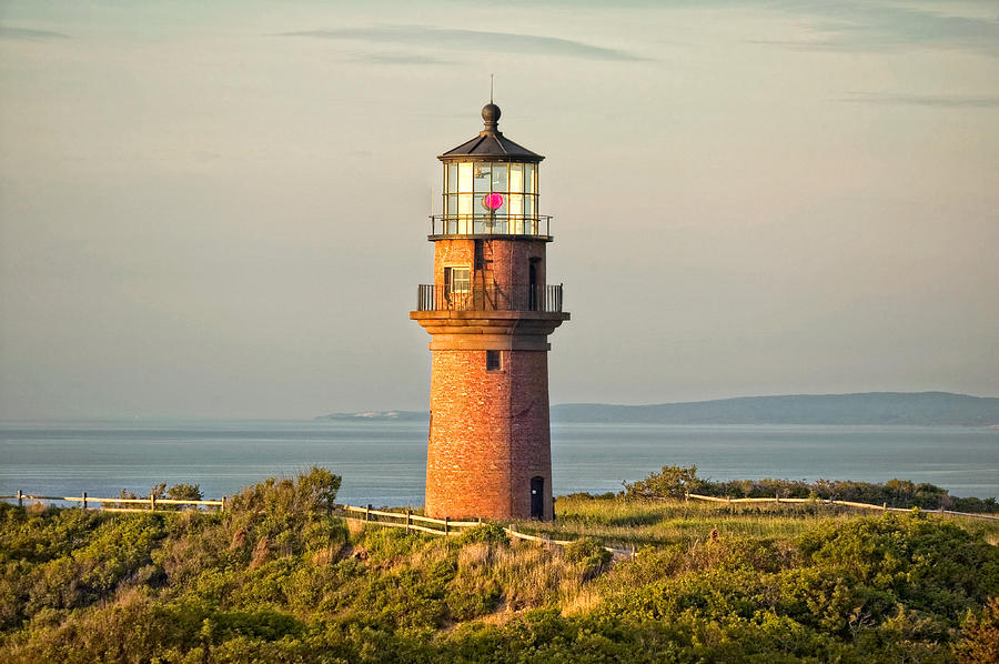 Lighthouse Photograph - Gay Head Light by William Britten