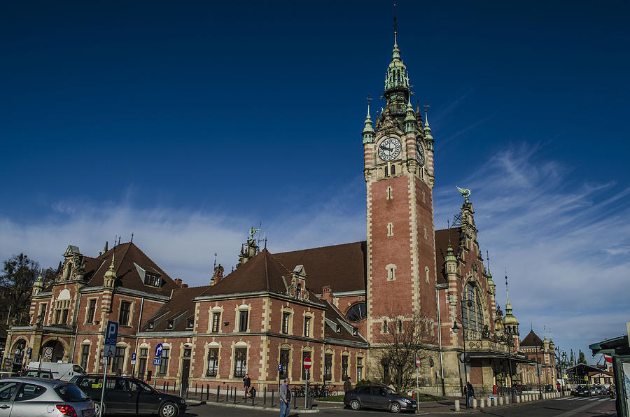 City Photograph - Gdansk Main Station by Adam Budziarek