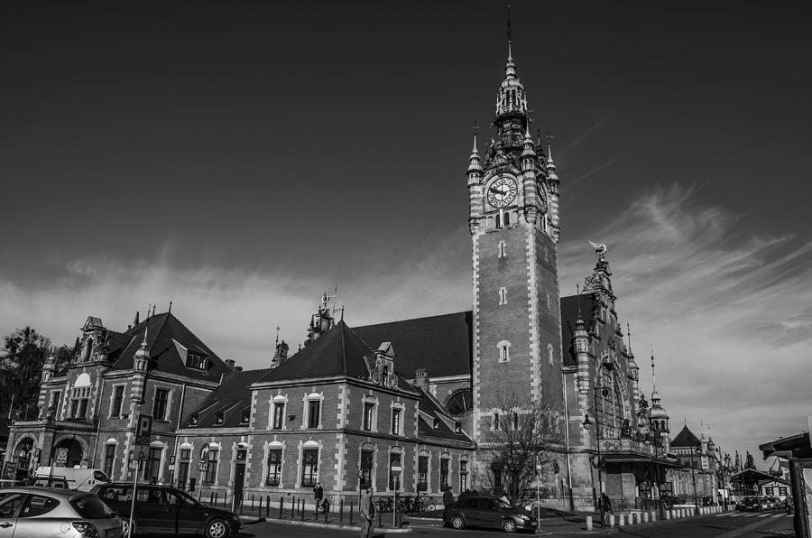 City Photograph - Gdansk Main Station Bw by Adam Budziarek