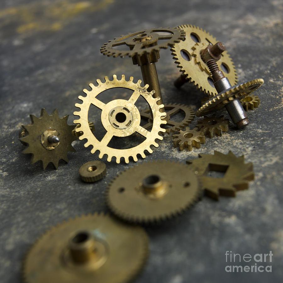 Gears Photograph by Bernard Jaubert