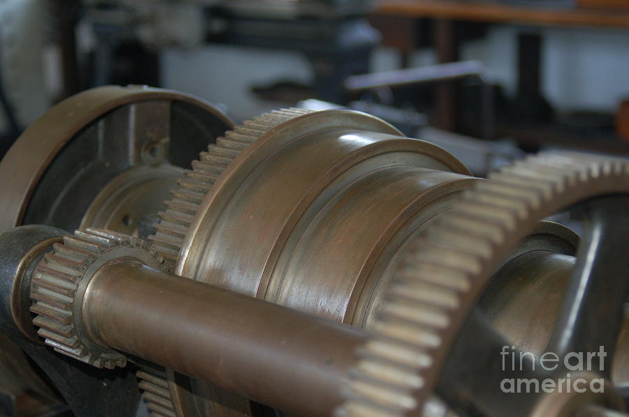 Henry Ford Photograph - Gears Of Progress by Patrick Shupert