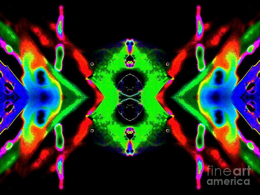 Gecko Digital Art - Gecko by Lorles Lifestyles