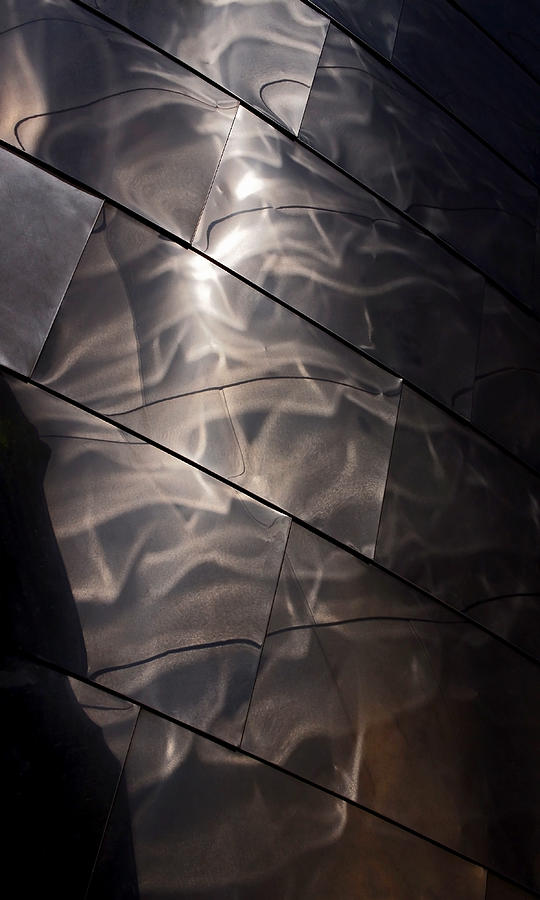 Abstract Photograph - Gehry Magic by Rona Black