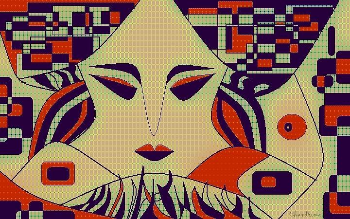 Geisha Digital Art - Geisha by Chandrima Dhar