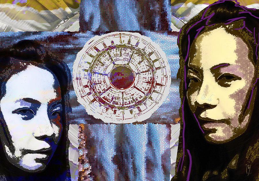 Gemini Digital Art - Gemini by Maria Jesus Hernandez