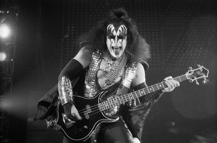 Gene Simmons Photograph - Gene Simmons by Timothy Bischoff