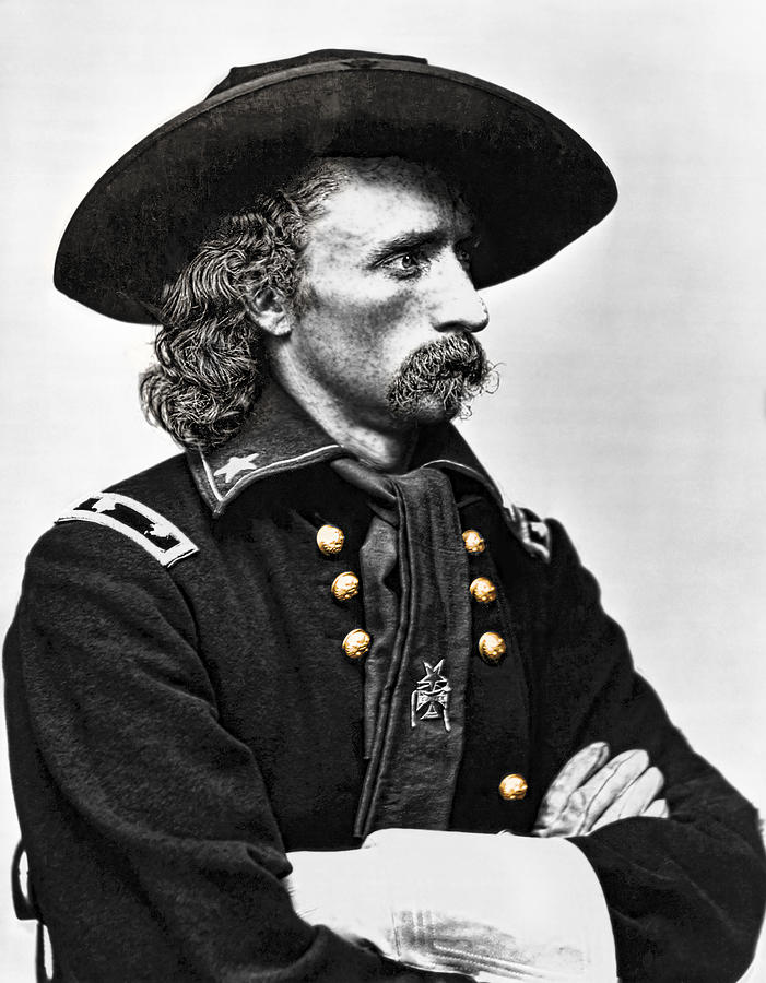 Custer Photograph - General George Armstrong Custer  by Daniel Hagerman