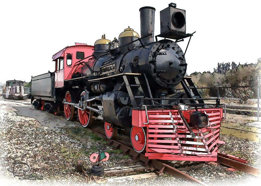 General II - Steam Locomotive by Ludwig Keck