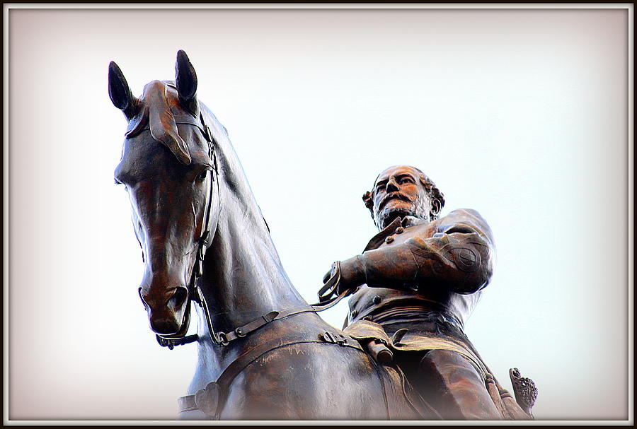 Confederacy Photograph - General Lee by Greg Thiemeyer