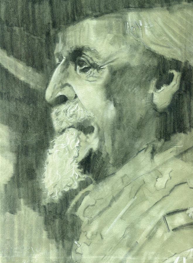 General Lee Drawing - General Lee by Luis  Navarro