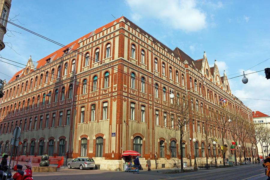 Croatia Photograph - General Post Office Zagreb by Borislav Marinic