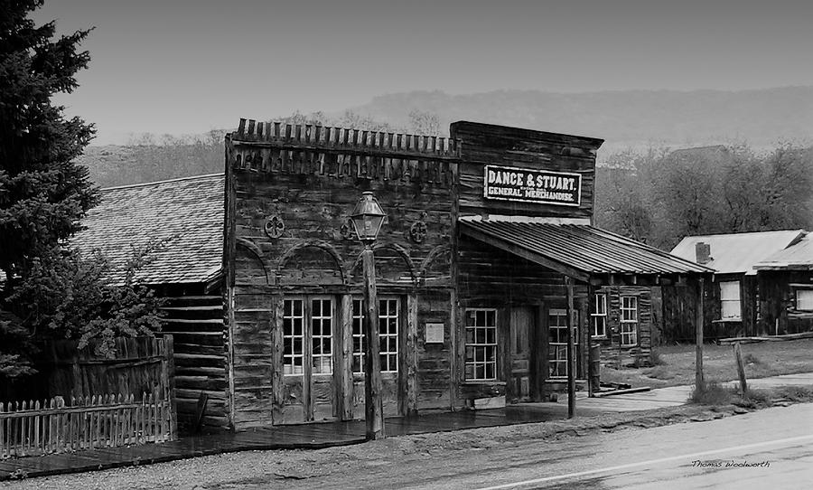 Store Photograph - General Store Virginia City Montana by Thomas Woolworth