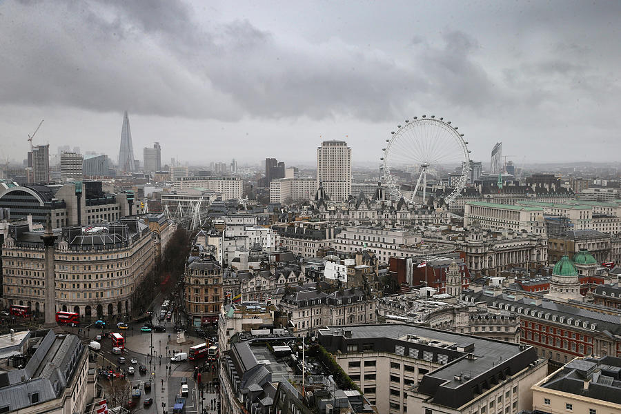 General Views Of The London Skyline Photograph by Chris Jackson