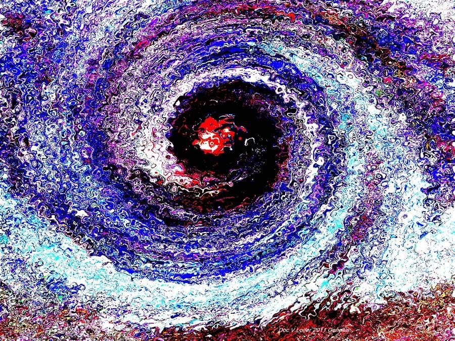 Creation Digital Art - Genesis by Dr Loifer Vladimir