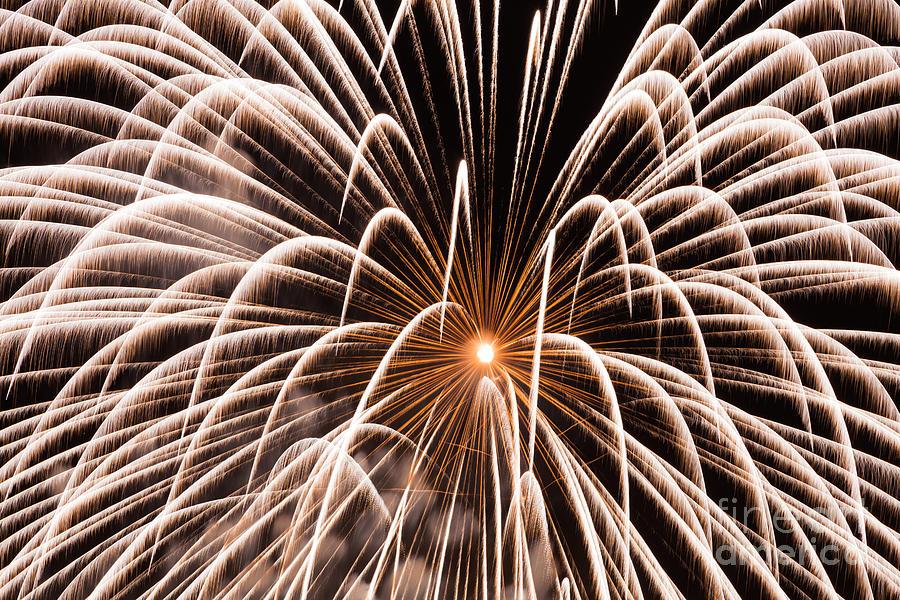 Fireworks Photograph - Genesis by Eugenio Moya