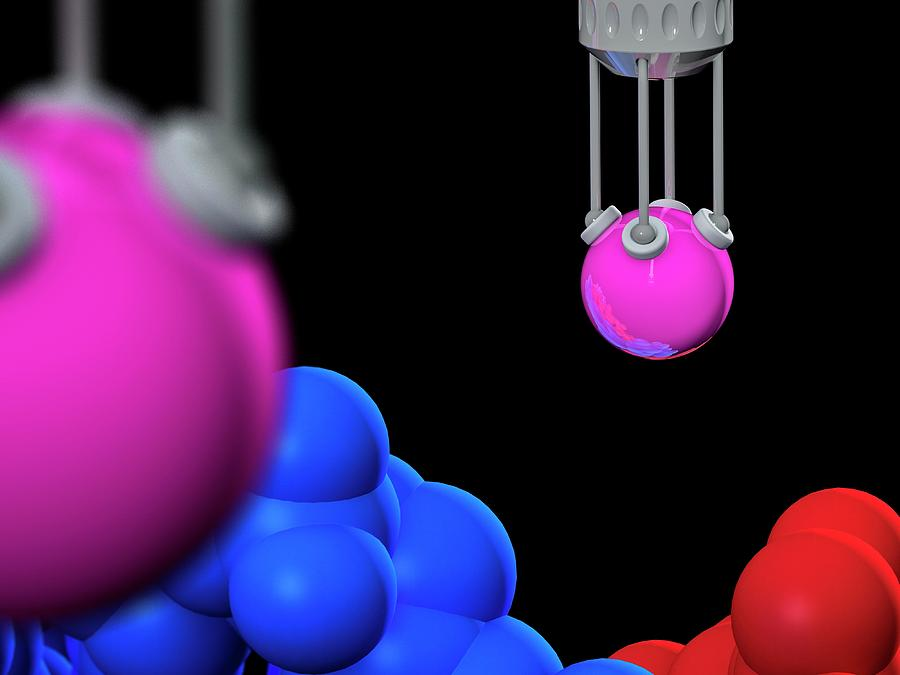 3d Photograph - Genetic Engineering by Laguna Design/science Photo Library