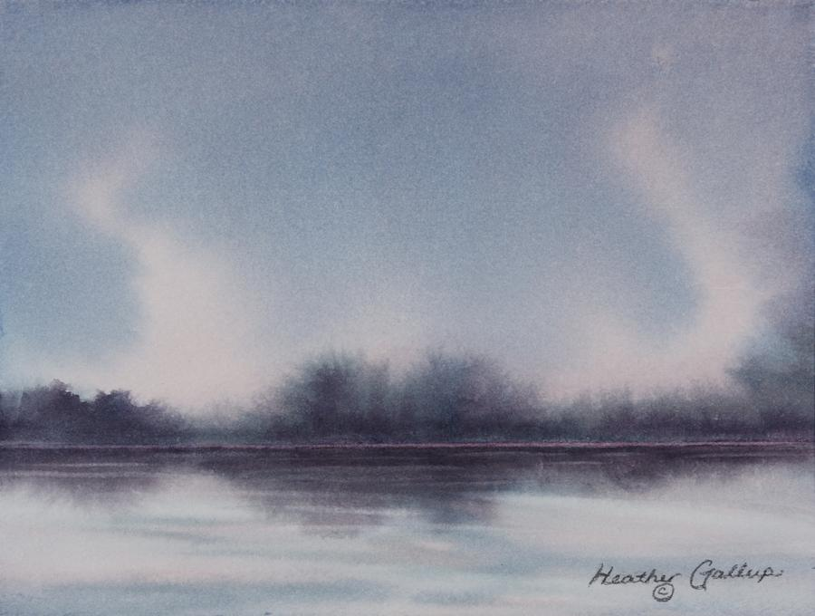 Landscape Painting - Genie Effect by Heather Gallup