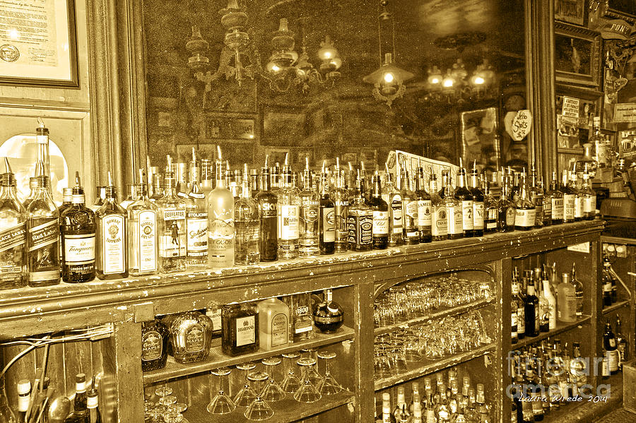 Nevada Photograph - Genoa Bar Oldest Saloon In Nevadas Old West History by Artist and Photographer Laura Wrede