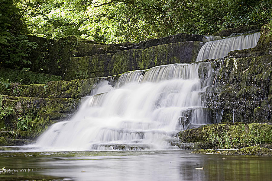 Waterfall Photograph - Gentle Falls by Tony Reddington