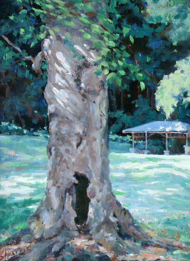 Percy Warner Park Painting - Gentle Giant by Sandra Harris