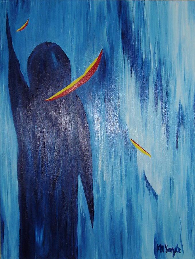 Marten Kayle Painting - Gentle Greeting by Marten Kayle