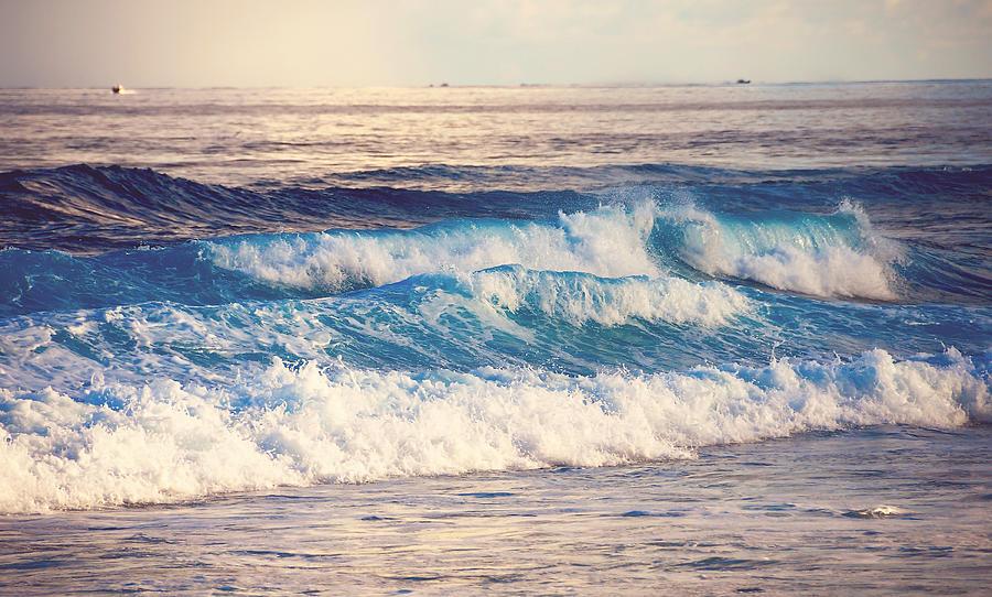 Ocean Photograph - Gentle Light  by Jenny Rainbow