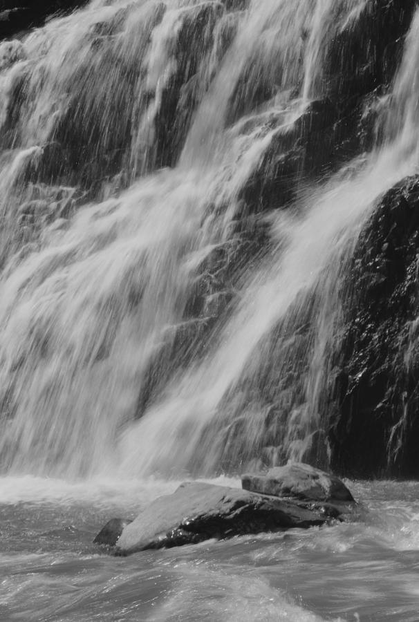 Waterfall Photograph - Gentle Splash by Amanda Powell