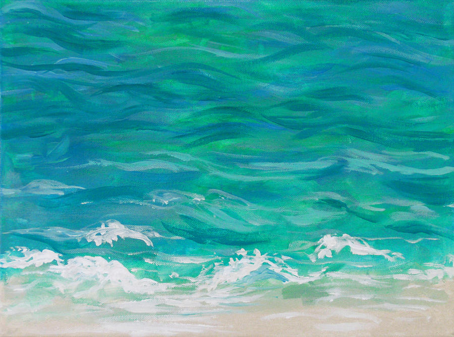 Painting Water Using Acrylics