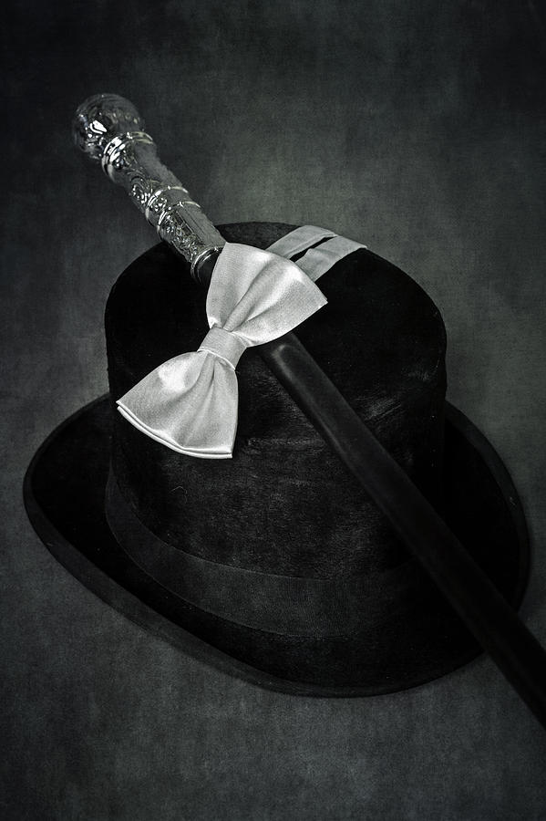 Top Hat Photograph - Gentleman by Joana Kruse