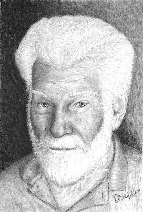 Gentleman With White Beard by Joe Olivares