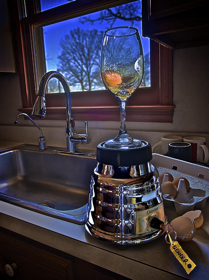 Blender Photograph - Gentlemen Start Your Blenders by Mark Miller