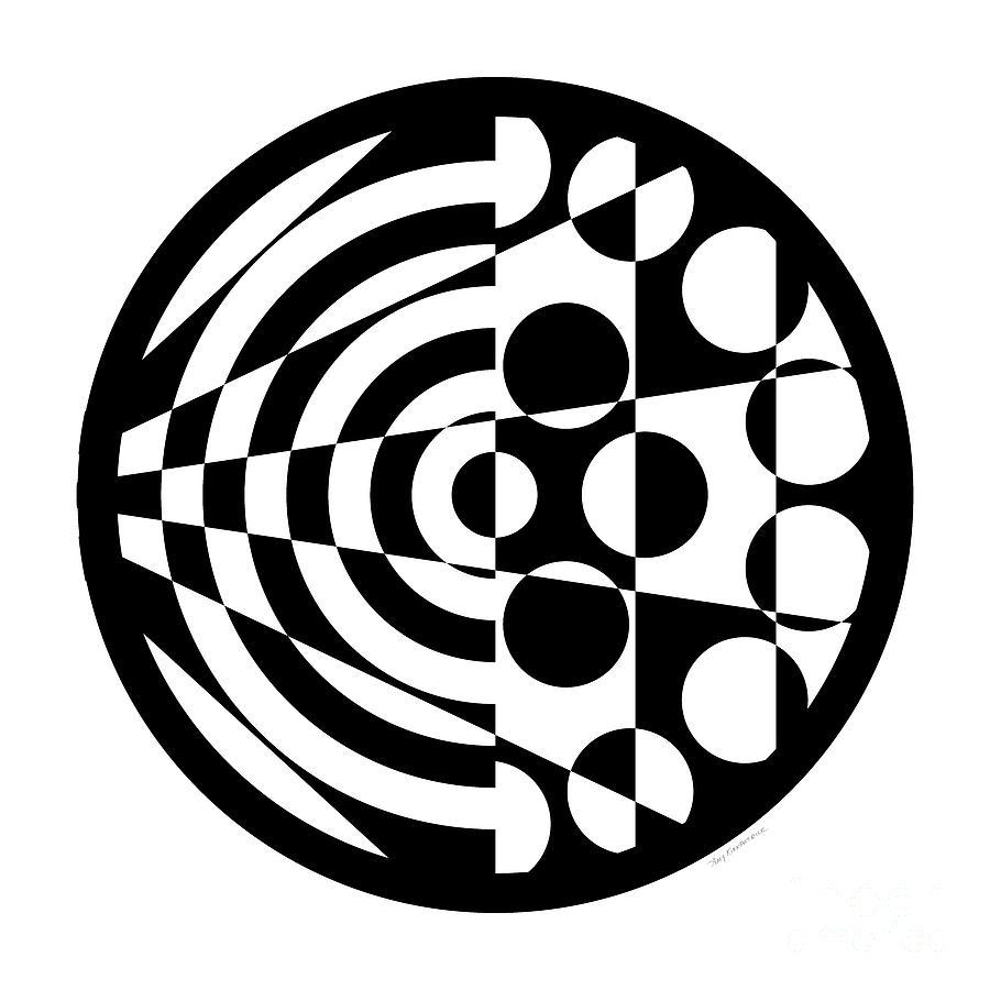 Geomentric Circle 1 Digital Art