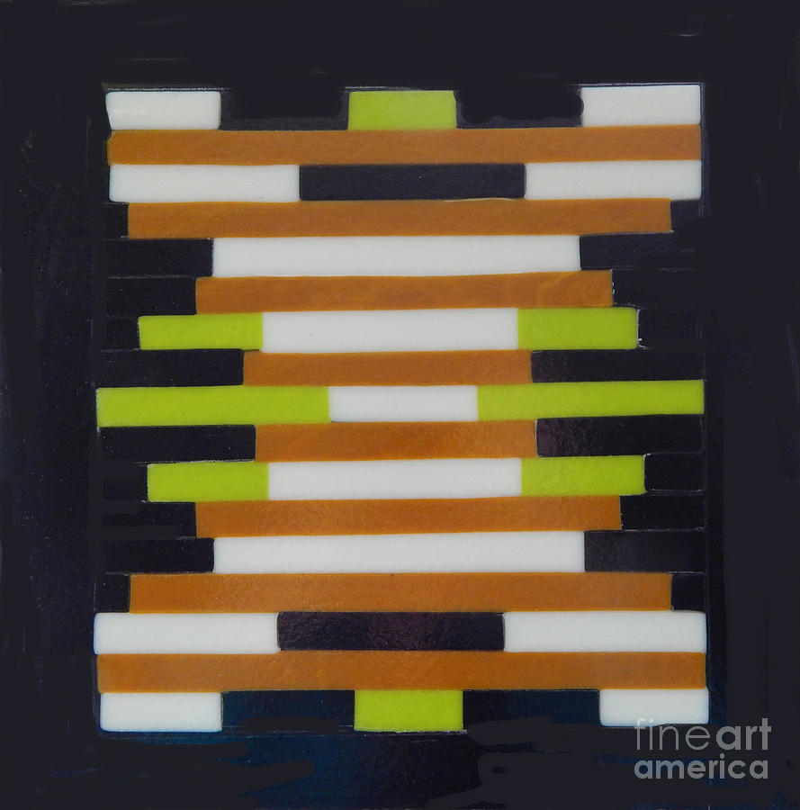 Geometric Abstract by Patricia  Tierney