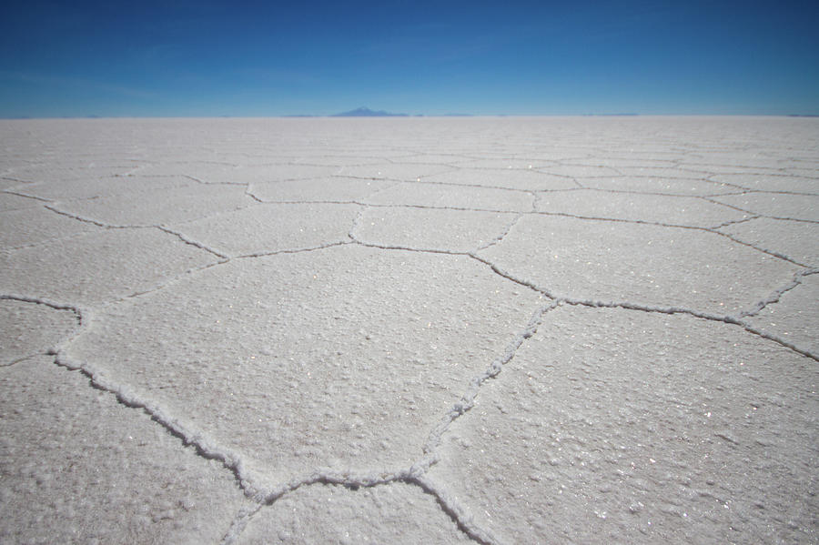 Geometric Shapes In Salt Flat Photograph by Universal Stopping Point Photography