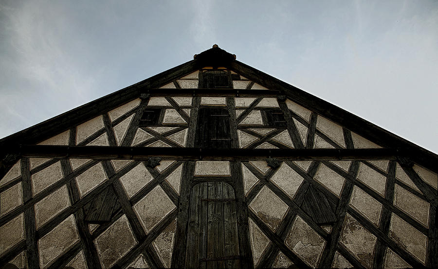 Rothenburg Photograph - Geometry 202 by Joanna Madloch