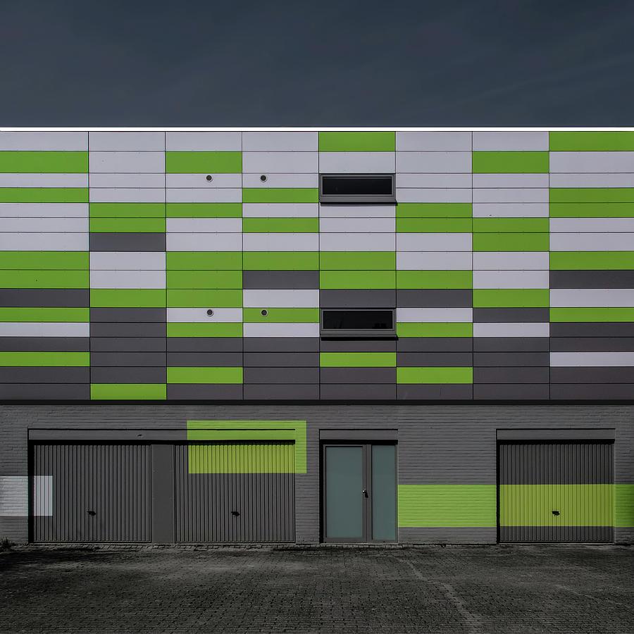 Architecture Photograph - Geometry by Luc Vangindertael (lagrange)