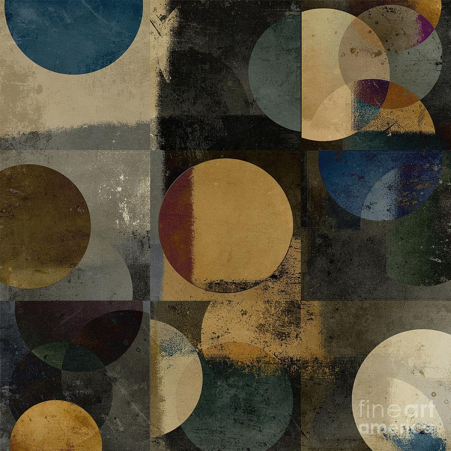 Geometry Digital Art - Geomix 01 - 111bt2a by Variance Collections