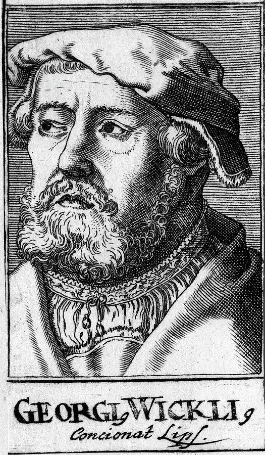 16th Century Painting - Georg Witzel (1501-1573) by Granger