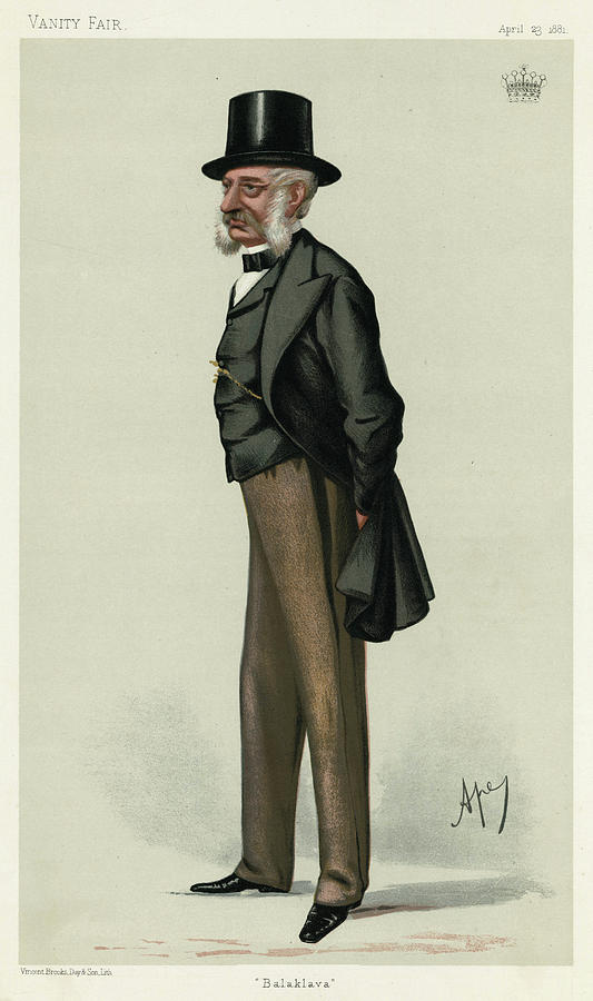 Lucan Drawing - George Charles Bingham 3rd Earl by Mary Evans Picture Library