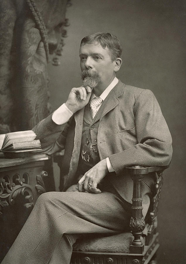 Photo Photograph - George Du Maurier by Stanislaus Walery