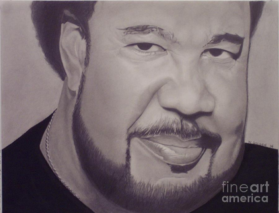 George Duke Drawing by Wil Golden
